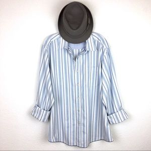 Tommy Bahama Jeans Brand Button Down Striped Shirt